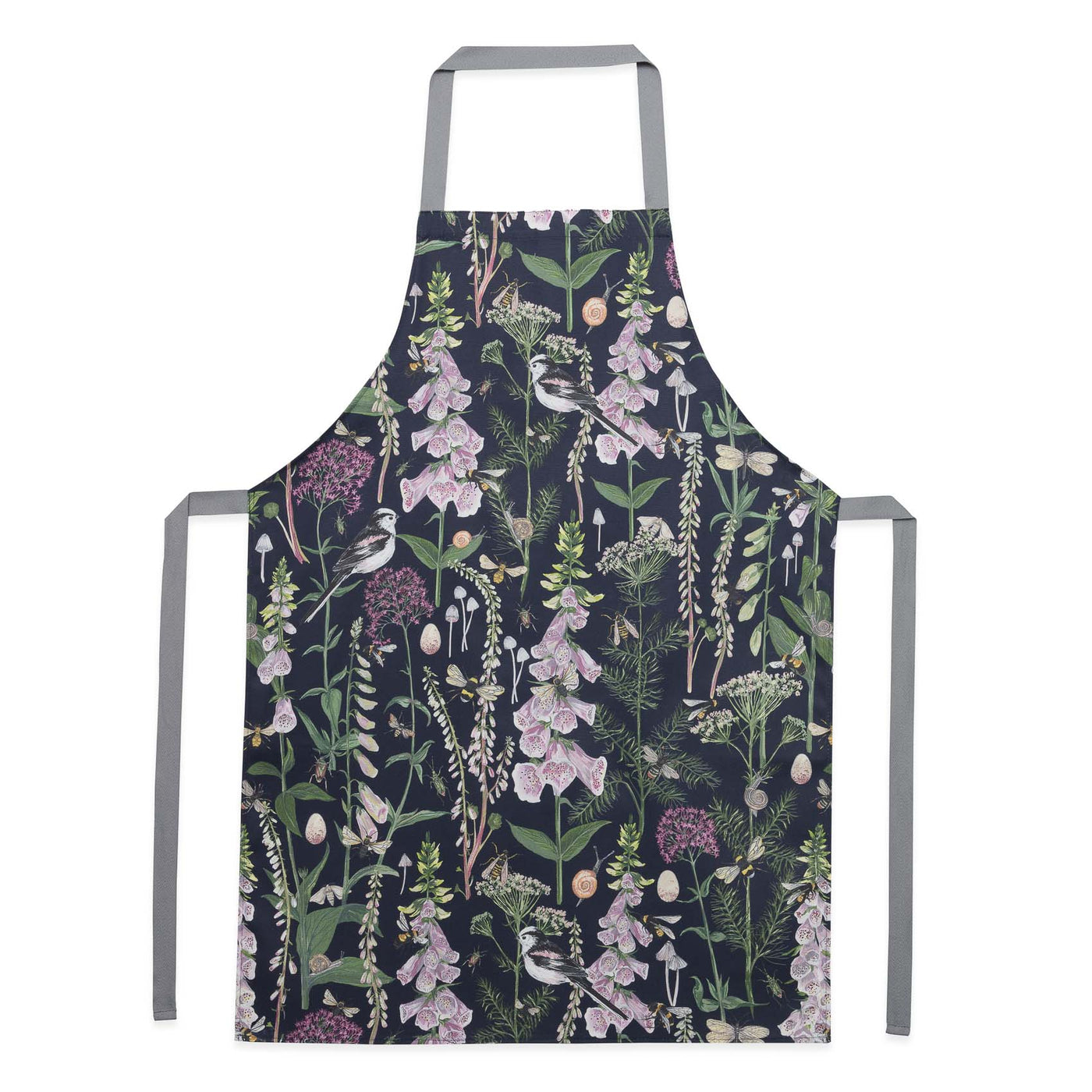 Longtail and Foxglove Apron - Navy