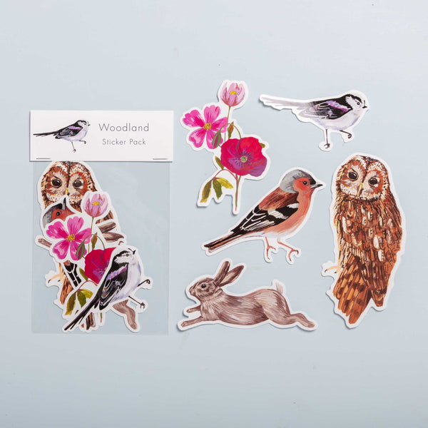 Woodland Vinyl Stickers