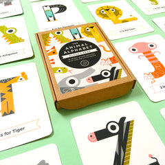 The Jam Tart alphabet flash cards Ministylin