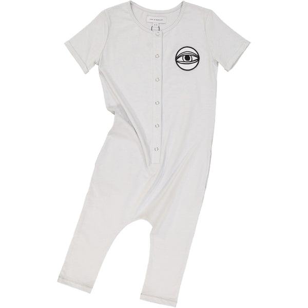 Eye onesie white