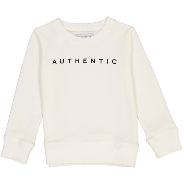 Jax and Hedley super soft kids unisex sweatshirt in cream Ministylin