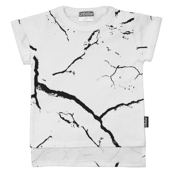 Cracks T-shirt White