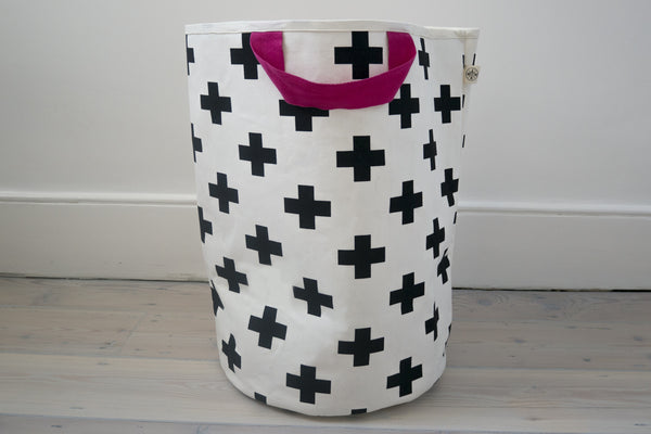 Wildfire Cross toy storage bag with pink handles