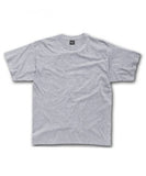 Minibasic Marl Grey Long Fit T-Shirt