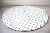 Wildfire Grid and cross print play mat