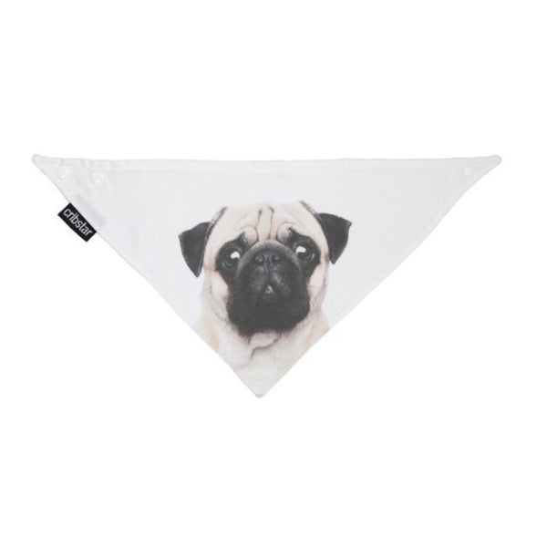 Cribstar Pug Face Bib