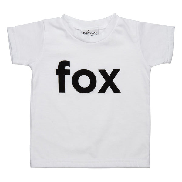 Tobias and the Bear I'm a Fox t-shirt