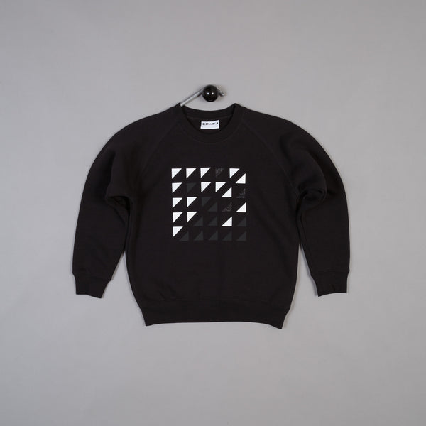 Shapes of Things Kids LTD Sweatshirt Black right angles