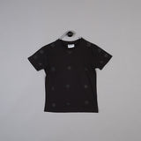 Shapes of Things Kids black polka shape t-shirt