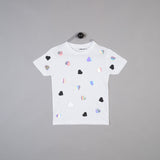Shapes of Things Kids white polkaheart t-shirt
