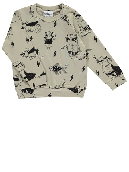 Super Pets Light Sweatshirt