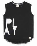 Play Drop Hem Tank Top