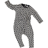 Jax and Hedley baby children's super soft mountain onesie in washed black ministylin