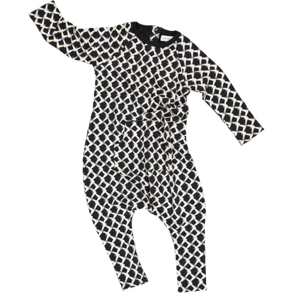 Jax & Hedley Mountain onesie washed black