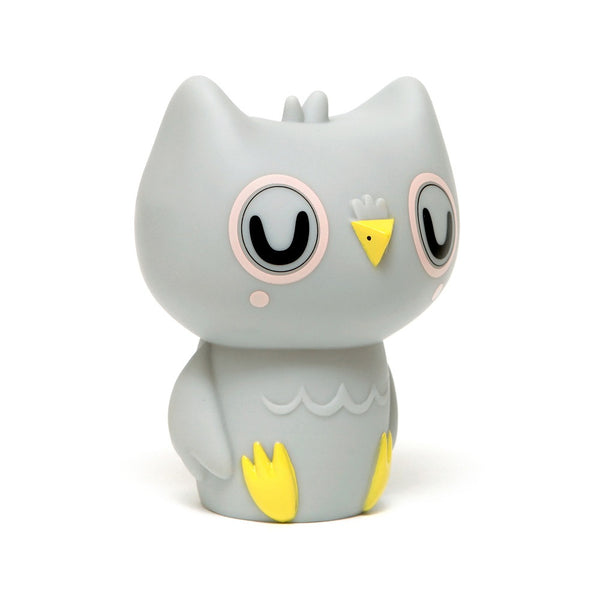 Owl Night light in Grey