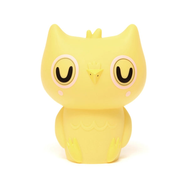 Owl Night light in Yellow