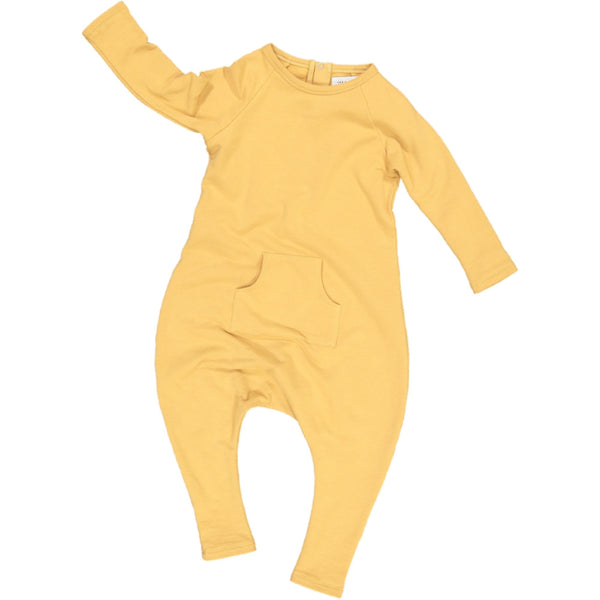 Jax & Hedley Pocket onesie oak buff
