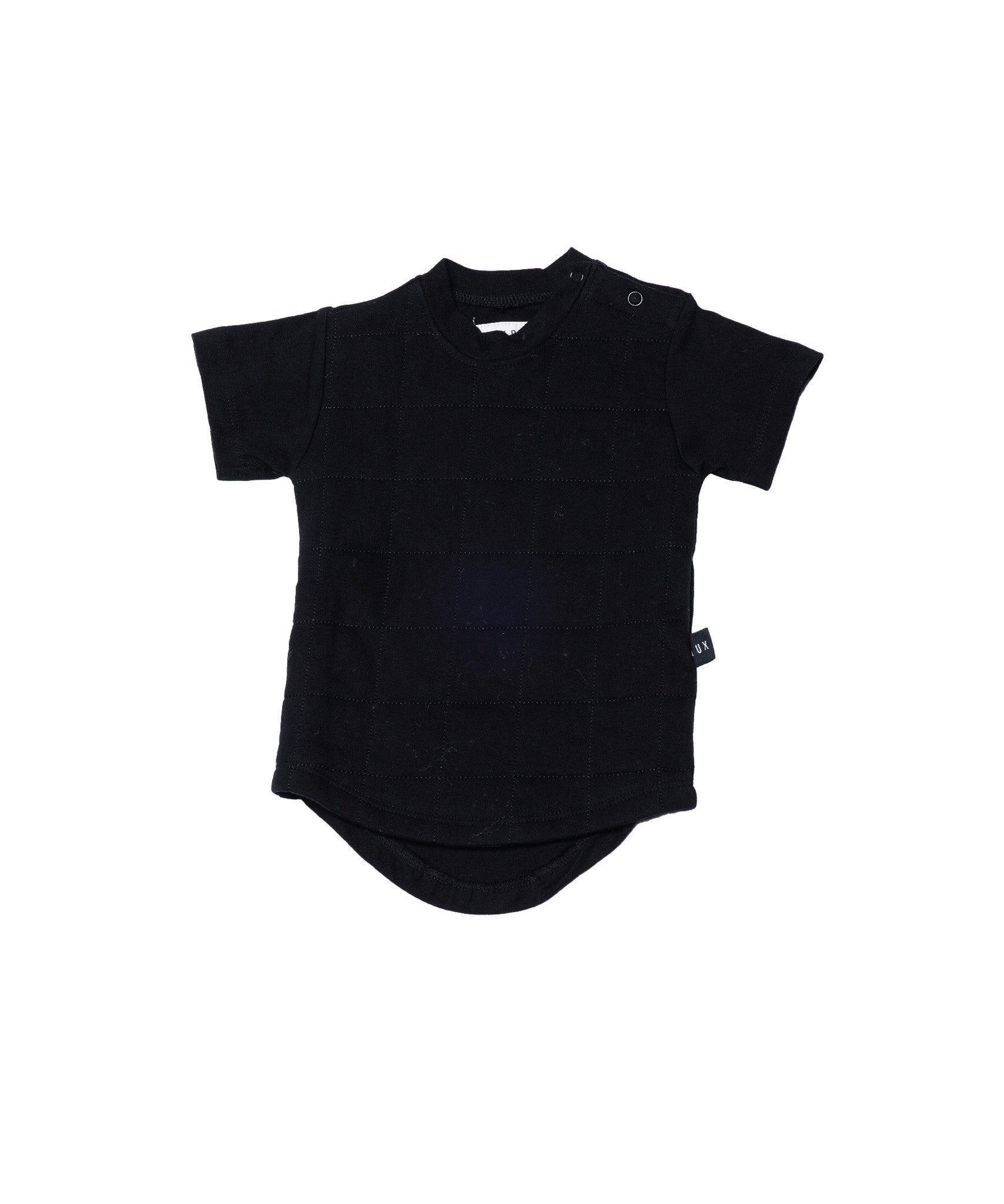 Huxbaby bunny quilted drop back tee