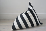 Wildfire Stripe print pyramid bean bag