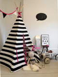 Wildfire Stripe pink trim teepee