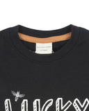 Turtledove London Bee Lucky Top Black Collar