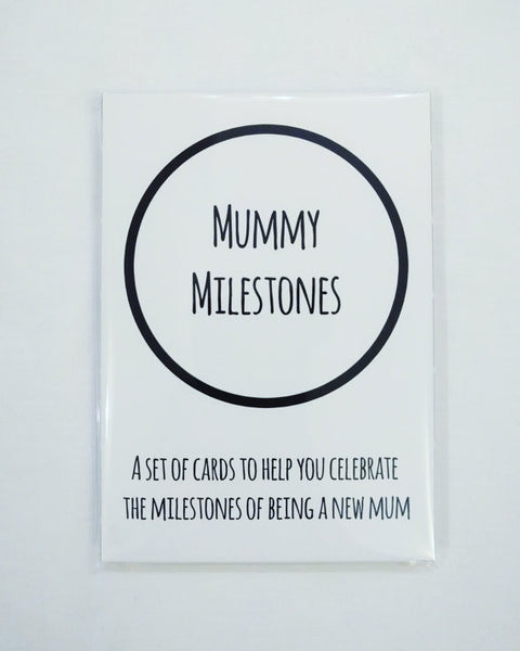 Mummy Milestones Cards