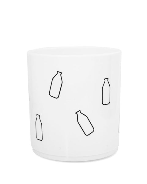 Milk Bottle Melamine Cup