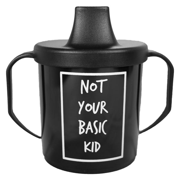 Cribstar Not Your Basic Sippy Cup black