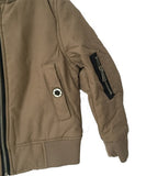 Minibasic Sand Padded Bomber Jacket