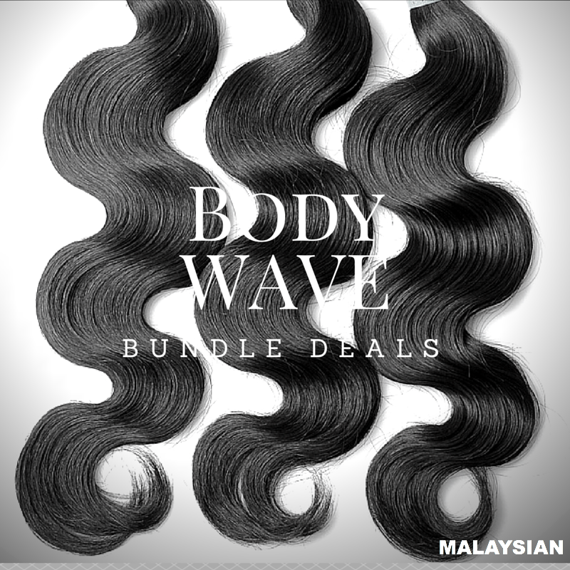 Malaysian Body Wave Bundles Deal