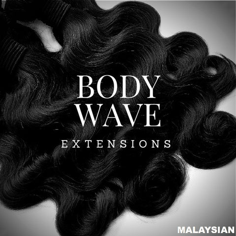Malaysian Body Wave Sew-In Extensions