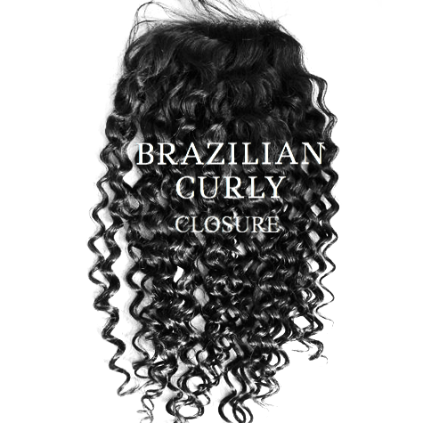 Brazilian Curly Closure