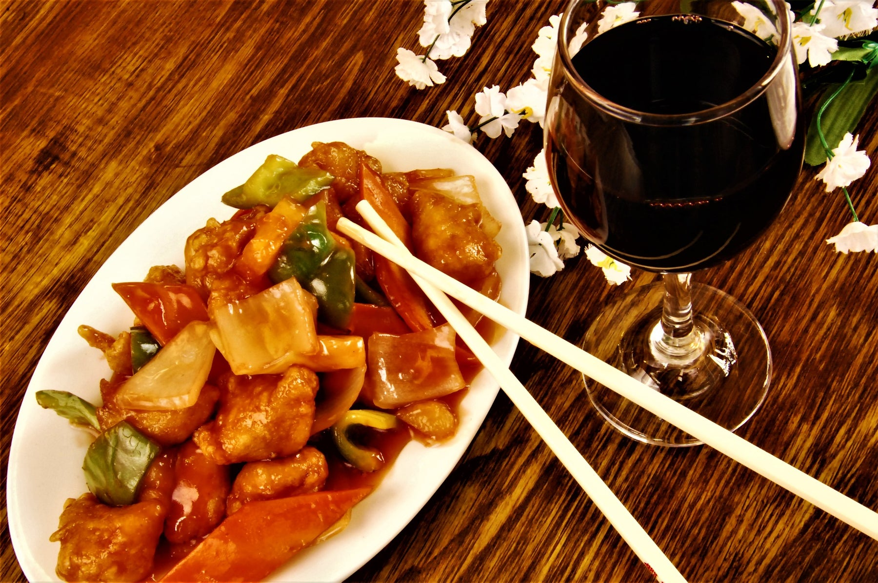 The perfect Chinese Food Wine Pairings!