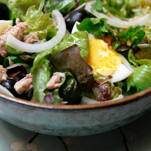 Recipe: Niçoise Salad with Seared Tuna