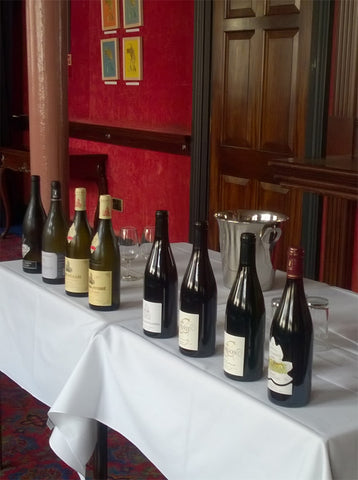 The Eberle Wine Circle Maconnais and Beaujolais Tasting at The Artists' Club in Liverpool