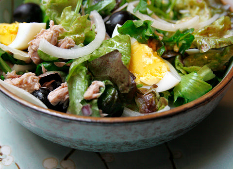 Niçoise Salad with tuna