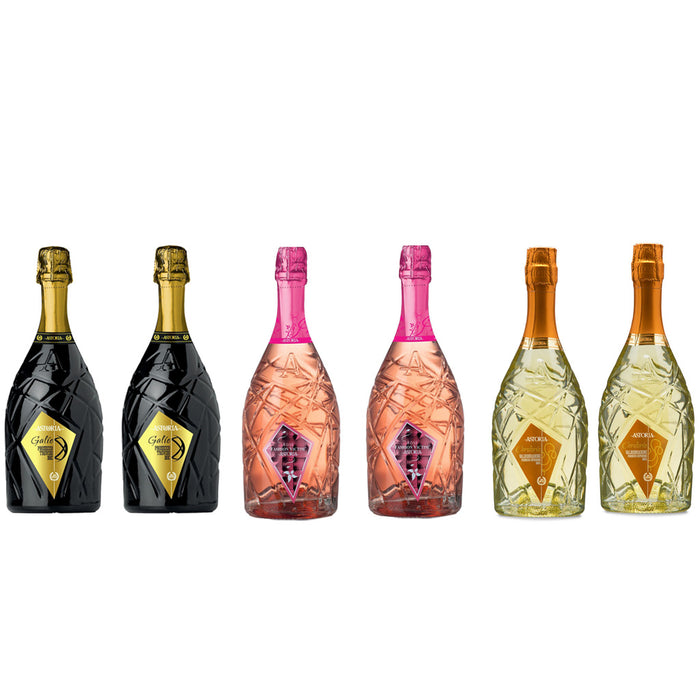 Astoria Vini  Mixed Case of Prosecco and Sparkling Rose