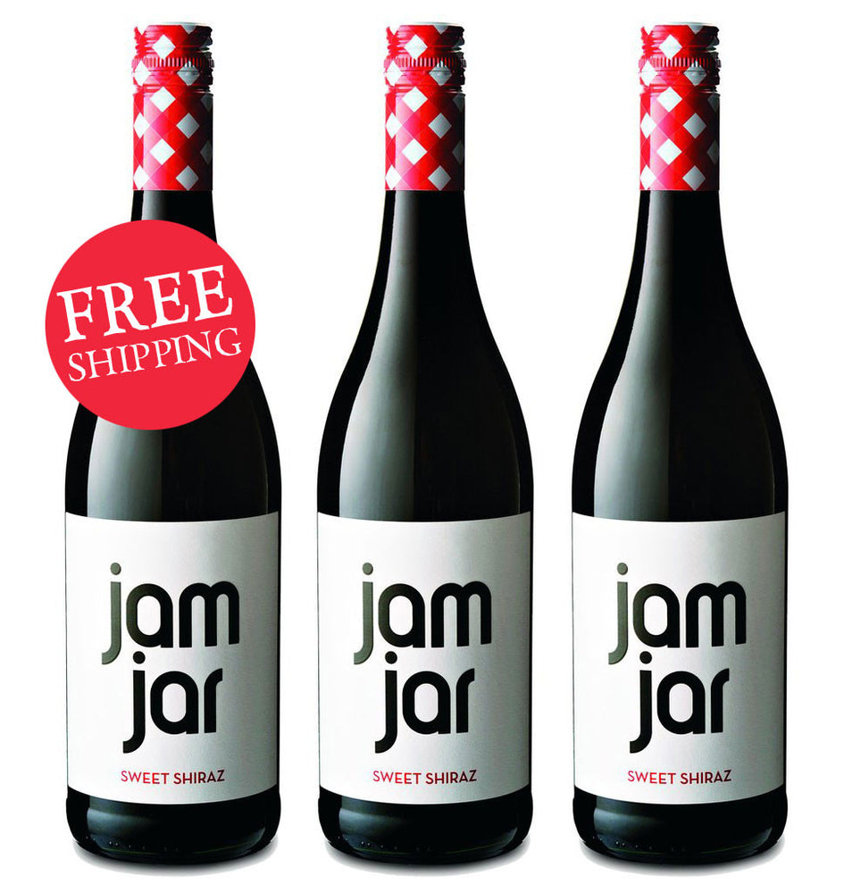 Jam Jar Sweet Shiraz (Case Of 3)