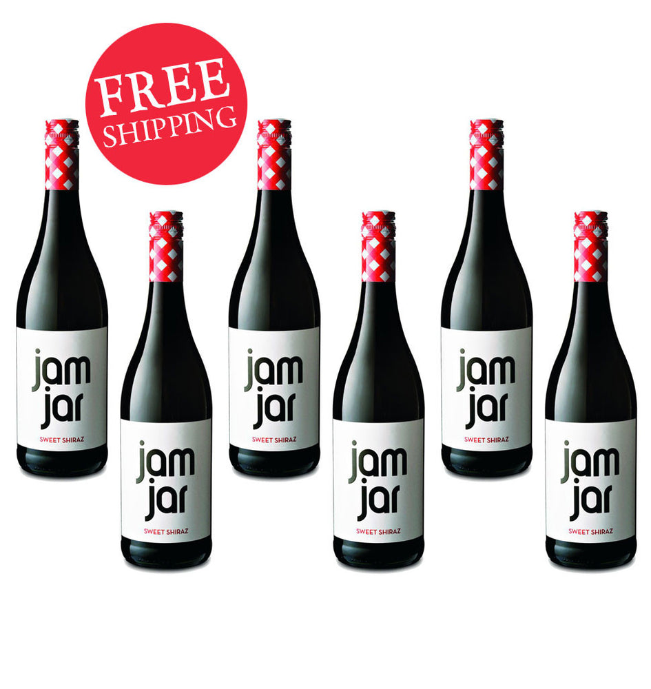 Jam Jar Sweet Shiraz (Case Of 6)