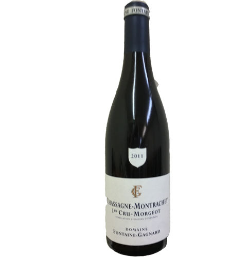 Domaine Fontaine Gagnard Chassagne Montrachet Rouge 1er Cru Morgeots 2011