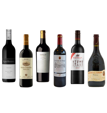 Winter Warmers Mixed Case of Reds