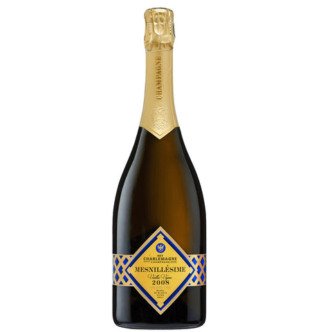 Champagne Guy Charlemagne Cuvee Mesnillesime Grand Cru Blanc de Blancs 2008
