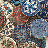 Floral Ceramic Trivet made in Turkey - Sophie's Bazaar - 2