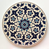 White and Blue Ceramic Trivet - Sophie's Bazaar - 1