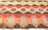 "Bright Colorful Kilim area Rug 10'43"" x 5'74"" - Sophie's Bazaar - 2"