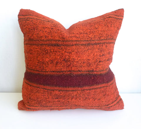 Orange recolored Pillow Cover - Sophie's Bazaar - 1