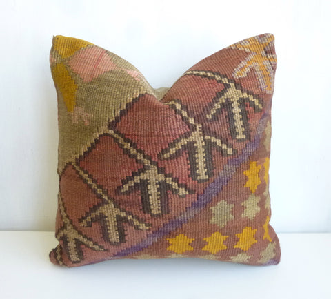 Original Ethnic Kilim Pillow Cover - Sophie's Bazaar - 1
