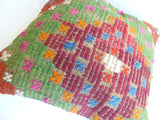 Embroidered Kilim Pillow Cover - Sophie's Bazaar - 5