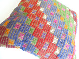 Colorful Kilim Pillow Cover with Ethnic design - Sophie's Bazaar - 5