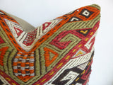 Colorful Cicim Pillow Cover with Ethnic design - Sophie's Bazaar - 3